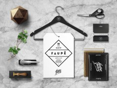FAUPÈ – Fashion Label Brand Identity