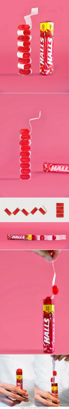 Halls Packaging (Concept) | Packaging