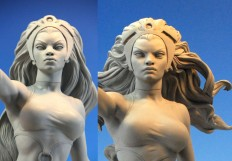 'Storm' heads by MarkNewman on DeviantArt
