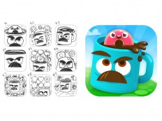 Mugs Icon by Joey Ellis