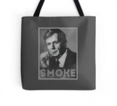 """Smoke! Funny Obama Hope Parody (Smoking Man) "" by badbugs 