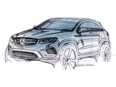 Mercedes-Benz GLC Design Sketch by Robert Lesnik