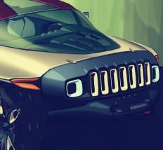 jeep on