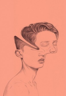 Illustration by Henrietta Harris in Dessins / Tattoo