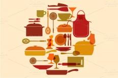 Kitchenware vector set ~ Illustrations on Creative Market