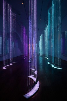 Cantus Arcticus - #light #art #installation by Bruce Munro | Distillery | Pinterest | Instalação De Arte De Luz, Instalação De Luz e Artistas