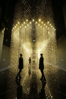 'LIGHT IS TIME' INSTALLATION | CITIZEN & YUTAKA ENDO | work ideas | Pinterest | Luzes, Placas e Instalações De Arte