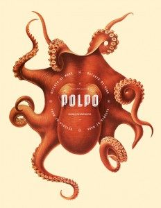 Polpo Restaurant branding by Richard Marazzi in Branding