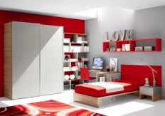 Bedroom: 13 Modern Teenage Bedroom Design, Room Painting Ideas, Colour Inspiration for Living Rooms ~ EastsideHomeLink.com