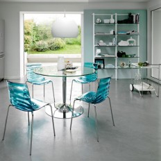 Furniture: Round Table With Metal Chairs For Any Ambiences, Modern Umbrella for Outdoor Patio Set, Round Table Design with Metal Chairs ~ AostaFurniture.com