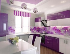 Kitchen: Selecting Colors Of Kitchen Walls Based On Kitchen Cabinet, Kitchen Walls, White Kitchen Wall ~ Homedesignatian.com
