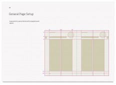 Designmanual til UM - Monokrom grafisk design. Logodesign, designmanualer, tryksager og webdesign.