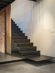 31 balmain street – industrial staircase on Inspirationde