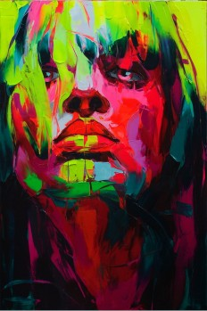 New Explosive Knife Paintings by Françoise Nielly - My Modern Met