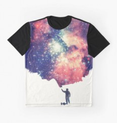 """Painting the universe"" Graphic T-Shirts by badbugs 