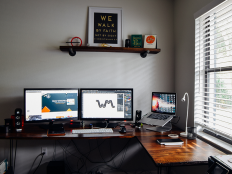 New Workspace by Beau Wingfield on Inspirationde