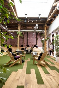 Github - San Francisco Headquarters by FENNIE+MEHL Architects and Studio Hatch | Office/Workplace | Pinterest | San Francisco, Unique Flooring and Astroturf