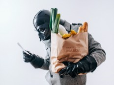 Photographer imagines the daily, mundane life of Darth Vader