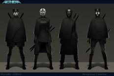 ArtStation - Aethra - Phalanx - Female character concept, Mohammed Z. Mukhtar
