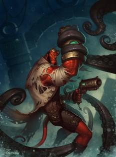 ArtStation - Hellboy_Final_Art, Evgeniy Zagumennyy