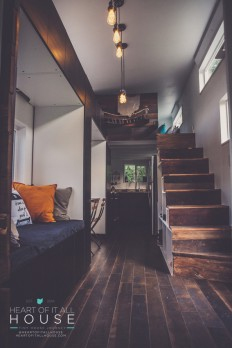 Heart of It All House: 224 Sq. Ft. Tiny hOMe on Inspirationde