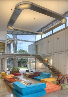 Shipping Container Home Infused With Sustainable Features on Inspirationde