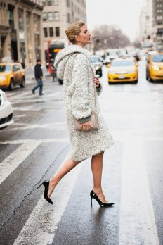 Route to Art — fashion street coat on Inspirationde