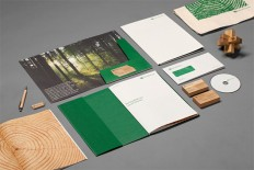 Woodhouse Corporate Identity by Heydays | Inspiration Grid | Design Inspiration