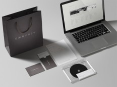 Embassy Identity by Muggie Ramadani Design Studio | Inspiration Grid | Design Inspiration
