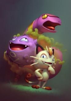 ArtStation - Pokemon! Fanart, Cassio Yoshiyaki | cartoon character | Pinterest