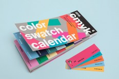 FPO: Color Swatch Calendar 2016