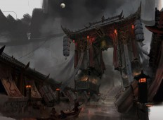 ArtStation - The gates of hell, lok du