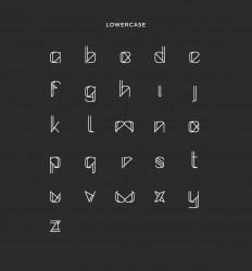 Metrica Full Font - Free Uppercase on
