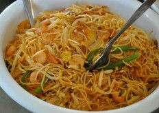Singapore Fried Noodles Recipe