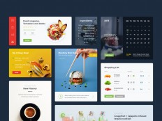 Food & Drink UI Kit – PSD Repo