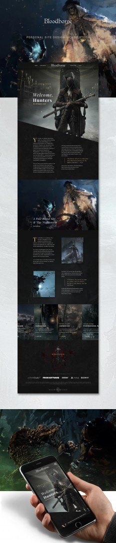 Bloodborne - Hub Design on