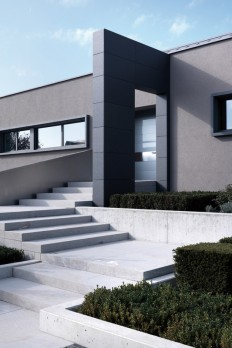 Modern house in Hassel, Luxemburg by Sandro Curreli on Inspirationde