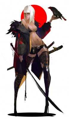 ArtStation - Fallen Angels , Amama L