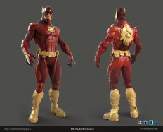 ArtStation - The Flash , Nirmalendu Paul