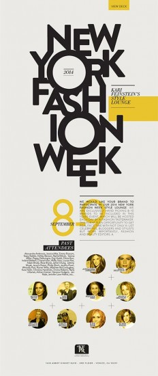 NY Fashion Week by Eugenia Anselmo | design | Pinterest | Typographie, Mode et Mode De Ny