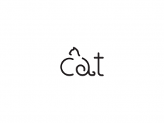 Cat Wordmark by shibupg