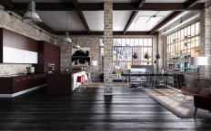 Industrial Loft on