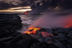 Lava Photography in Hawaii by Tom Kualii