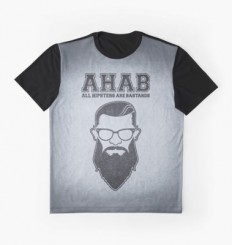"""ALL HIPSTERS ARE BASTARDS - Funny (A.C.A.B) Parody "" Graphic T-Shirts by badbugs 