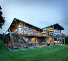 Far Pond Residence by Bates Masi Architects on Inspirationde