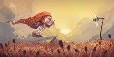 Creative Character Illustrations by Davide Tosello   2 Illustration Mag