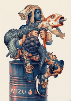 Tumblr, Mizu, James Jean in Illustration