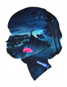 Mulholland Drive, an art print by Veronica Fish - INPRNT