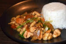 Thai Stir-Fried Chicken Recipe