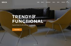Brick | A Contemporary Creative Theme
